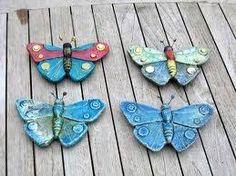 Afbeeldingsresultaat voor vlinders van keramiek