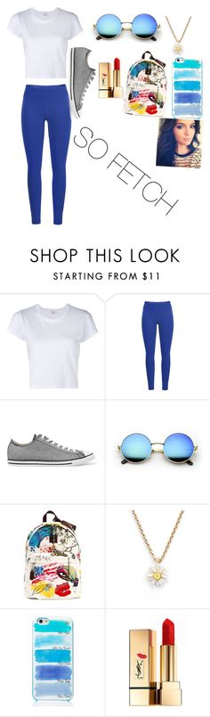 """Untitled #120"" by willowsong25 on Polyvore featuring RE/DONE, Black Diamond, Converse, Marc Jacobs, Kate Spade and Yves Saint Laurent"