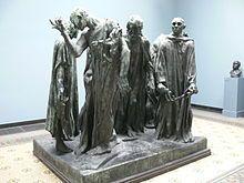 Calais statue bourgeois - Die Bürger von Calais – Wikipedia