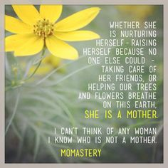 Great Mother - I am a Mother -- Momastery