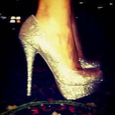Vegas heels.