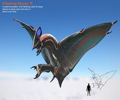 Where evolution meets science fiction and art. Speculative Evolution (also called Speculative Biology and Speculative Zoology) is the envisioning. Subnautica Concept Art, Monster Concept Art, Alien Concept Art, Creature Concept Art, Fantasy Monster, Monster Art, Creature Design, Subnautica Creatures, Mythical Creatures Art