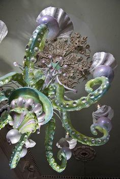 Adam Wallacavage, tentacle chandeliers