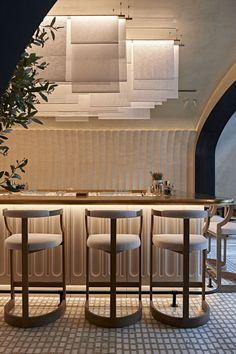 Photos and Videos 4 of 10 from project Avli by tashas Australian Interior Design, Interior Design Awards, Restaurant Interior Design, Commercial Interior Design, Commercial Interiors, Bar Design Awards, Plan Restaurant, Restaurant Lighting, Modern Restaurant