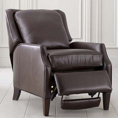 Recliner - love to put feet up, in recliners that don't look like recliners!