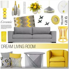 How To Wear Gray & Yellow - Ceramic Outfit Idea 2017 - Fashion Trends Ready To Wear For Plus Size, Curvy Women Over 20, 30, 40, 50