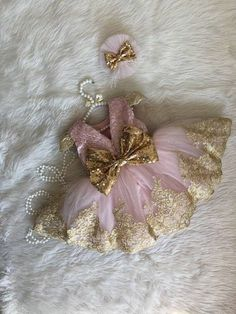 Pink Pageant Dress with Gold Lace Pageant Dresses For Women, Toddler Pageant Dresses, Little Girl Dresses, Toddler Dress, Girls Dresses, Party Dresses, Lace Dresses, Vestidos Minnie, Flower Girl Tutu