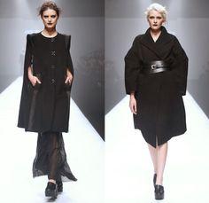 Trend: Oversized Winter CoatsJade en plus 2014-2015 Fall Autumn Winter Womens Runway Looks - Shanghai Fashion Week China