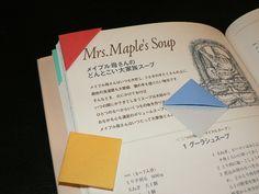 Des Origami - Dreieck Lesezeichen ~ - Etsuko der Mamma-Tagebuch