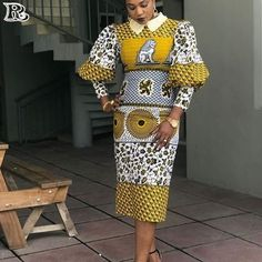 The collection of Beautiful Ankara Pattern Styles For Ladies you've ever wanted to see. Want to style and pattern your African print ankara African Fashion Ankara, African Print Dresses, African Print Fashion, Africa Fashion, African Dress, Fashion Prints, African Prints, Fashion Patterns, Ankara Gown Styles