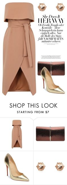 """Dec 11th (tfp) 2686"" by boxthoughts ❤ liked on Polyvore featuring Nina Ricci, Christian Louboutin, River Island and tfp"