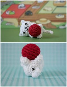 you are good at crocheting then here is a big list of free #crochet #cat patterns for you!Neko Atsume Cat