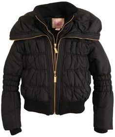 Pink Envelope Junior Girls Quilted Fill Down Puffer Jacket - Small to X-Large $69.99