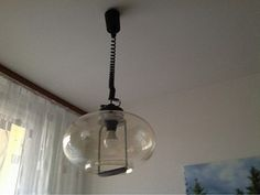 Stahovací kuchyňská lampa s náhradním stínidlem
