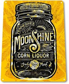 TIN-SIGN-Tennessee-Moonshine-Decor-Liquor-Whisky-Bar-