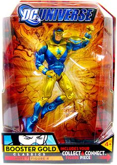 DC Universe Classics Wave 7 Booster Gold