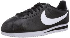 bdea9990dc4 Nike Womens Wmns Classic Cortez Leather BLACKWHITE 65 US -- Learn more by  visiting the