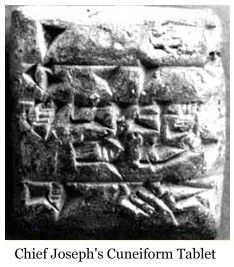 Chief Joseph Cuneiform Tablet