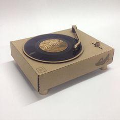 inspiration for cardboard turntable