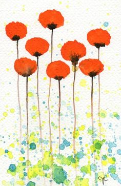 Good Morning Sunshine - Poppies