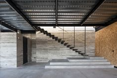 Since 1998 the Web Atlas of Contemporary Architecture Parque Industrial, Industrial Architecture, Space Architecture, Contemporary Architecture, Architecture Details, Factory Architecture, Industrial Stairs, Industrial Style, Entry Stairs