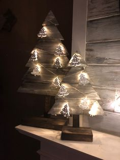 Christmas trees i made 2017