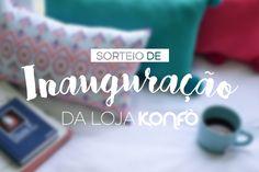 Love Triangle Blog: Sorteio - Inauguração Loja Konfò