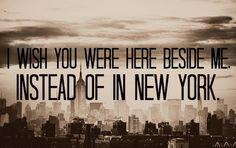 Snow Patrol New York Lyrics