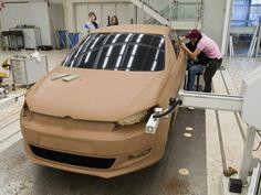 OG   Volkswagen / VW Polo Mk5   Full-size clay model