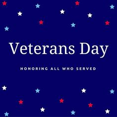 Happy #VeteransDay! Thank you for your service! #HappyVeteransDay #CCAC
