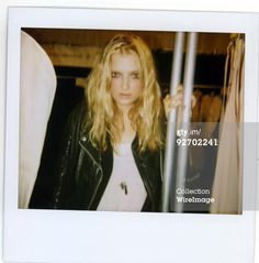 Lily Donaldson backstage at Erin Wasson x RVCA…