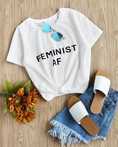 Get this Quirky Tshirt  .  Feminist AF T-SHIRT 664 INR. . Click the link in bio @zooomberg . Grab It Now!!! . . #style #party #fashion #glitter #nye #sequin #dresses #tops #shorts #ootd #heels #accesories #fashion #bags #outfit #zooomberg #glam #shopnow #glitz #instagood #shopping #instafashion