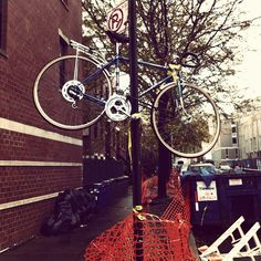 I'd save my bike too if Sandy were coming by. I have the exact same one.