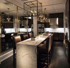 Dark kitchen inspo✨