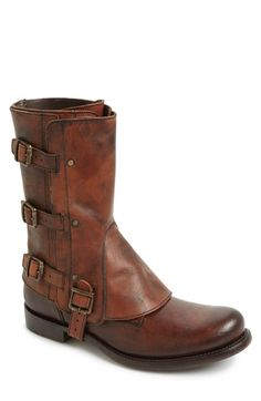 Free shipping and returns on Marco Delli 'Steve' Round Toe Boot (Men) at Nordstrom.com. Vachetta leather gaiters add some edge to a Goodyear-welted, weather-worn boot crafted in a bold high-top silhouette.