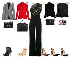 """""""1 Look by week - Jumpsuits"""" by stylev ❤ liked on Polyvore featuring Roland Mouret, Alexander McQueen, Effy Jewelry, Jona, McTeigue & McClelland, Givenchy, Tom Ford and Christian Louboutin"""