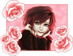 Ruby and Roses by Lifoures on DeviantArt