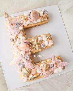 Let yourself be #Enchanted in small ways. Just can't wait to post this #dreamy #Mermaid theme #alphabetcake  Inspired from @christinascupcakes and @sugarbitesbyemma #guiltdesserts#bake#cake#customcake#customdessert#jakarta#jakartacake#birthdaycake#birthdaytart#tartcake#desserts#fruits#prettydesserts#cakestagram#instadessert#buzzfeed#buzzfeedfood#foodgram#food52#food52gram#idekado#love#caketrend#trending#instapretty#mermaidcake