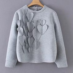 Patchwork Applique Damen Sweatshirt O Neck Long Large Size Casual Pullover Kids Outfits, Casual Outfits, Fashion Outfits, Grunge Outfits, Mode Streetwear, Kind Mode, Diy Clothes, Ideias Fashion, Kids Fashion
