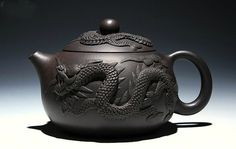 Dui Long Xi Shi teapot; Premium and Treasure Tea pot, Handmade zisha clay teapot,Guaranteed 100% genuine original mineral fired