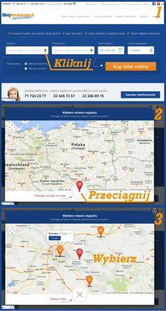 Znajdź przystanki w całej Europie w portalu www.BiletyAutokarowe.pl. Włącz mapę, przeciągnij pinezkę i wybierz przystanek.