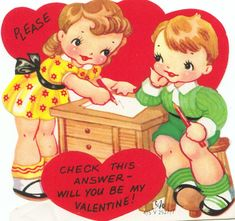 Check This Answer - Vintage Valentine