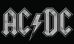 AC/DC Logo 03 by HostMedia, via Flickr
