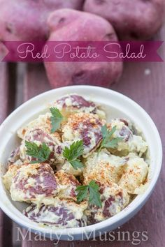 Red Potato Salad fro