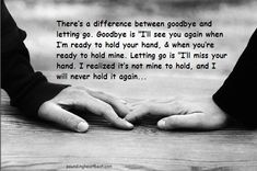 Finally letting go. Thank you for some beautiful years ❤️