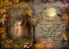 October - Vine Moon - The Wheel of the Year