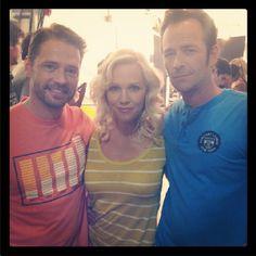 Kelly, Brandon , Dylan reunited