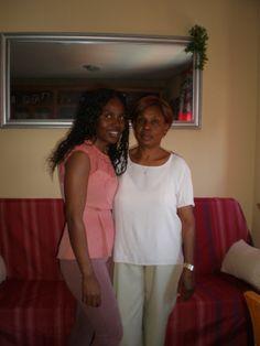 5. Alguien a quien quiero ( mi abuela y mi hermana)