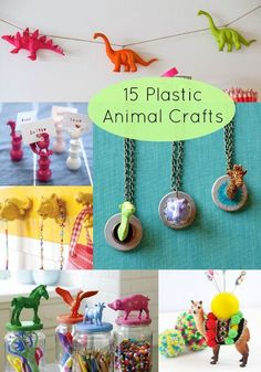 15 Fantastic Plastic Animal Crafts