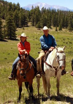 Our Colorado dude ranch your all-inclusive vacation adventure 2 hours from Denver & Colorado Springs; reasonable prices, horseback riding, white water rafting, hiking, riflery, fishing,